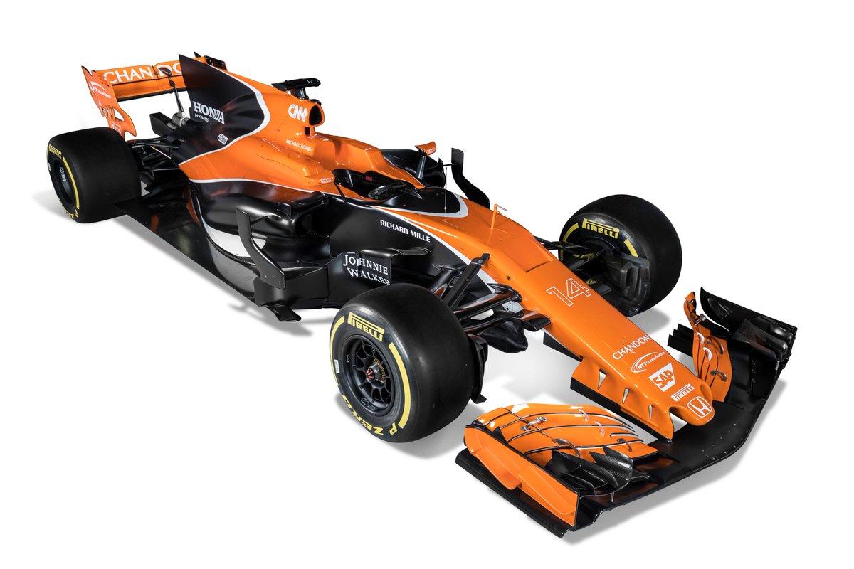 McLaren Honda MCL32 2