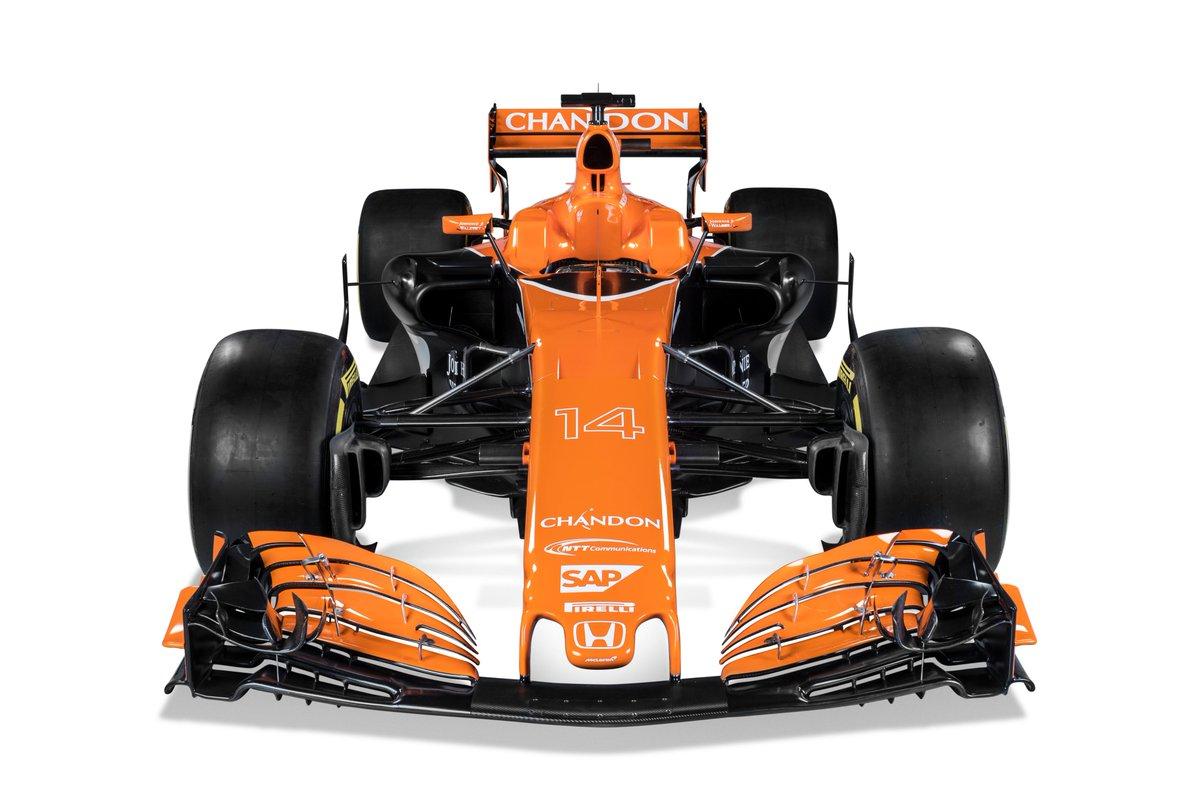 McLaren Honda MCL32 3