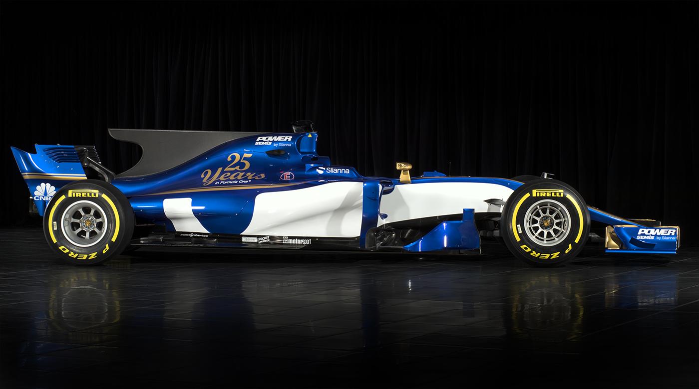 Sauber C36 2017 F1 Lateral