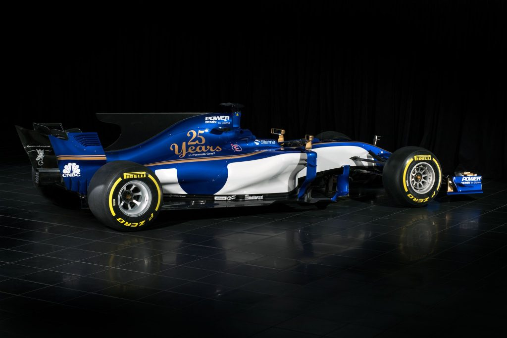 Sauber C36 F1 2017 Vista