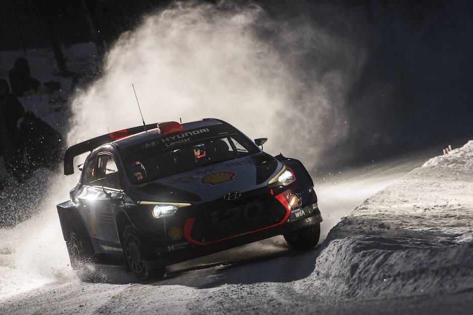 Dani Sordo Hyundai Suecia WRC