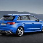 Audi RS3 Sportback 2017 Back
