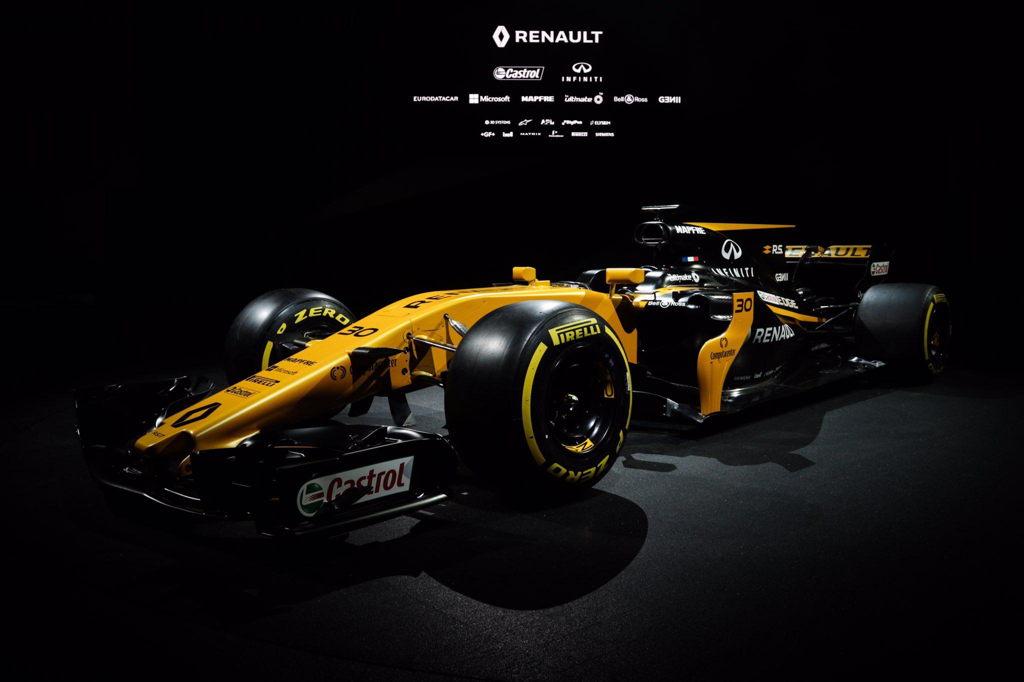 Presentacion Renault RS17 F1