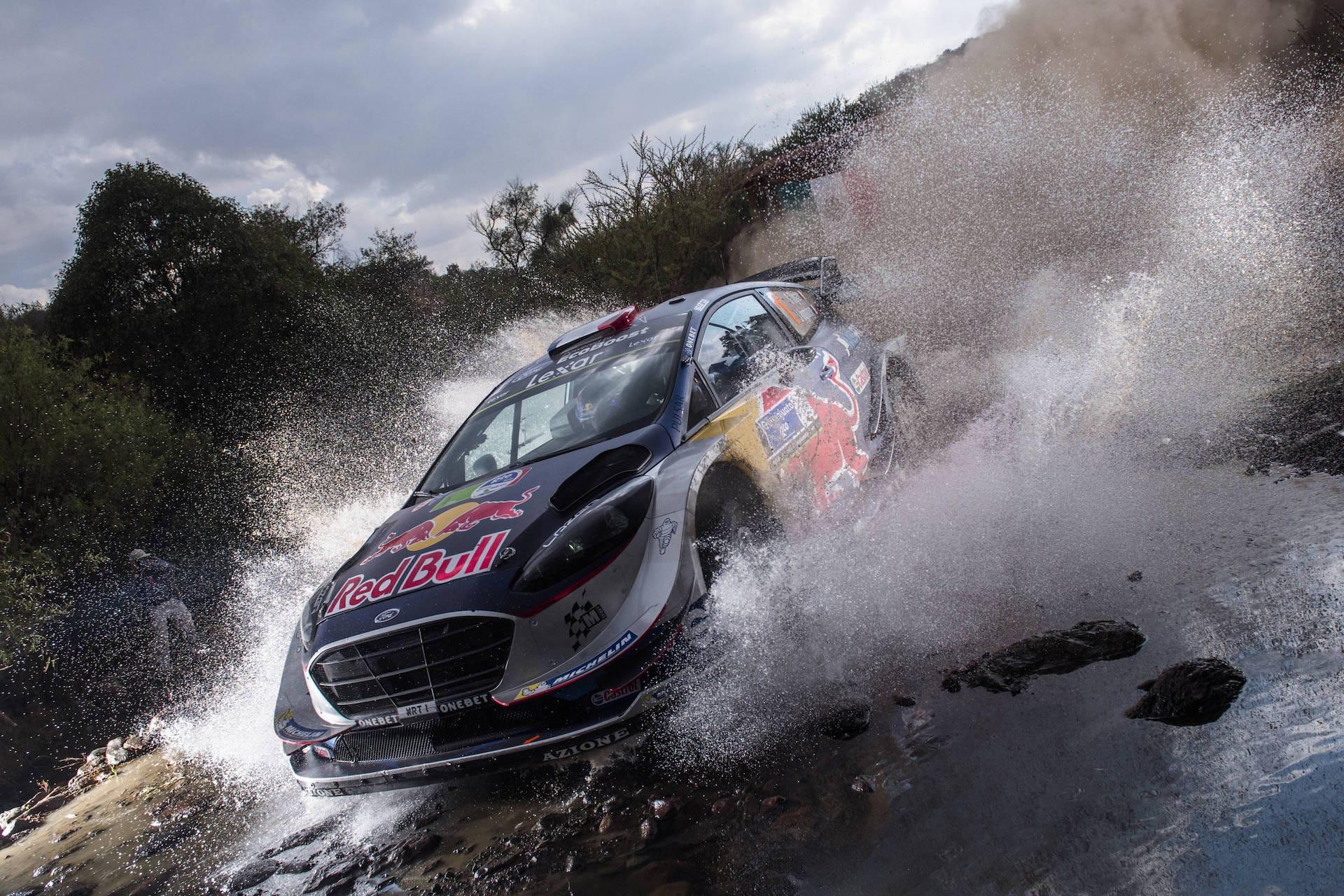 Ogier Rally Mexico M-Sport WRC