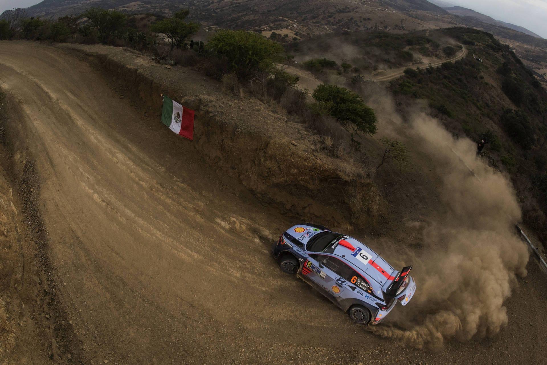 Sordo Rally Mexico Hyundai WRC