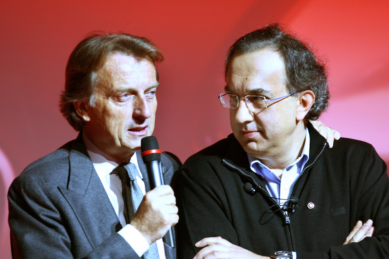 Montezemolo y Marchionne