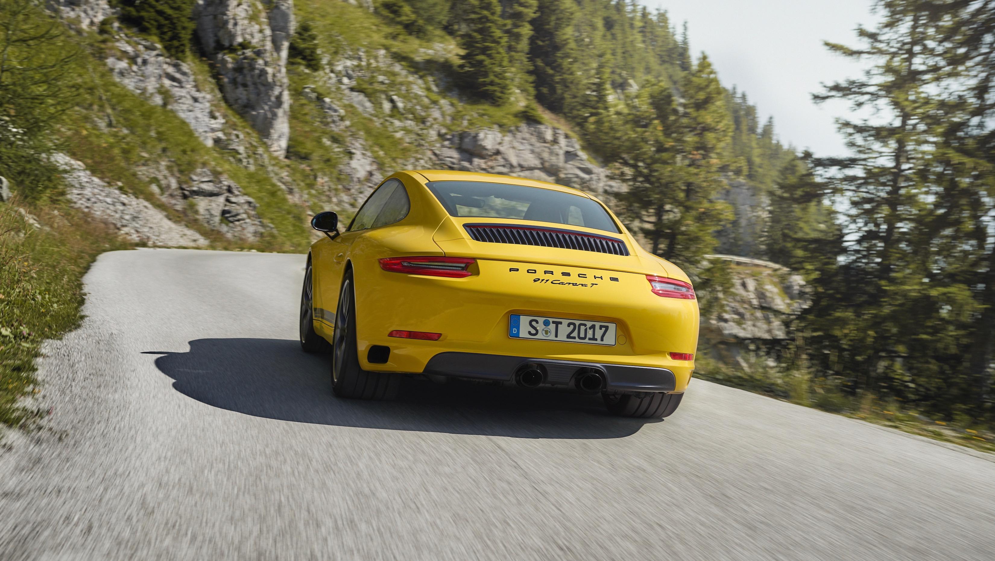 Porsche 911 Carrera T: así es el 911 moderno para puristas, más ...