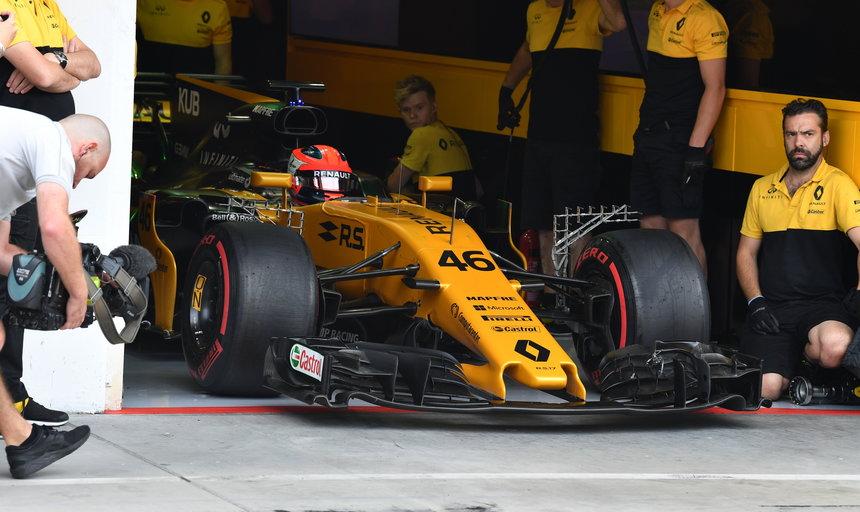 Test de Robert Kubica realizado con Renault