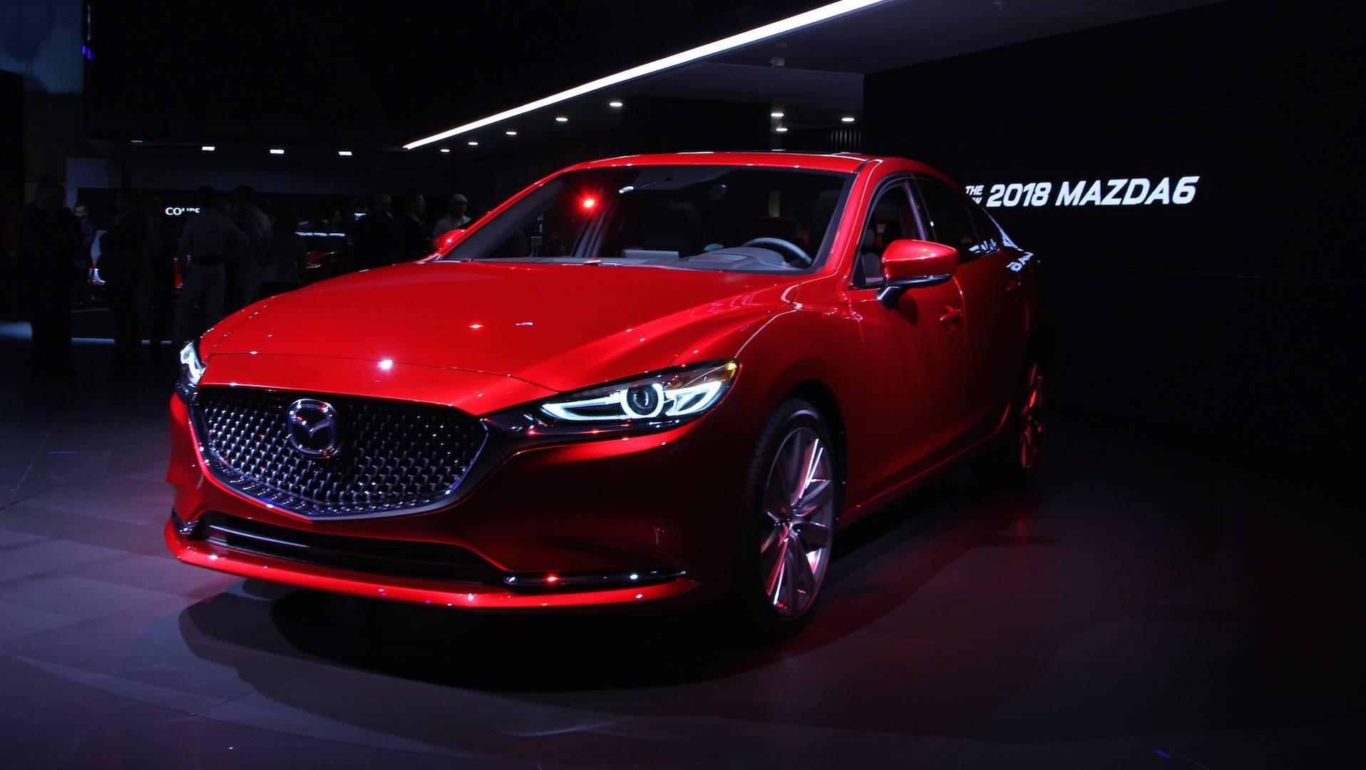 Nuevo Mazda 6 2018 >> Nuevo Mazda6 2018 La Estilosa Berlina Japonesa Se Actualiza Y