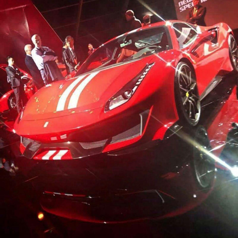 filtracion Ferrari 488 Sport Speciale