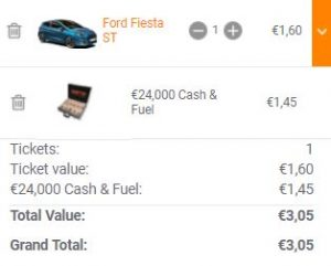 botb lotería de coches