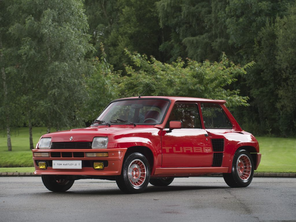 Renault grenade stock tom hartley jnr renault 5 turbo 1 for Garage peugeot pont audemer