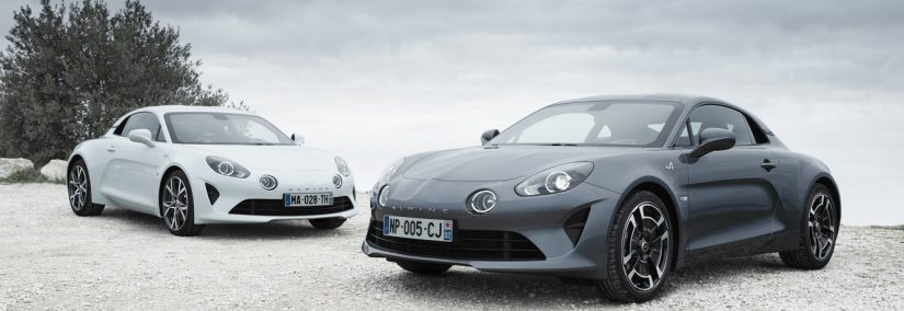 Alpine A110 Pure y Légende