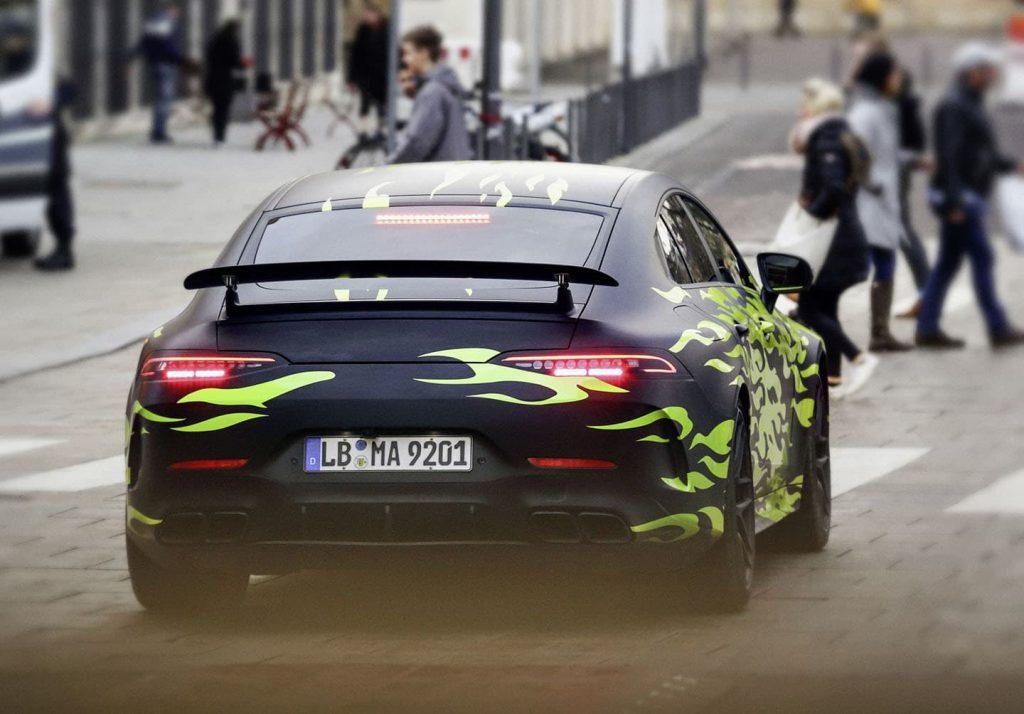 Mercedes AMG GT 4 puertas Coupé
