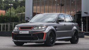 Kahn Design Range Rover Sport SVR