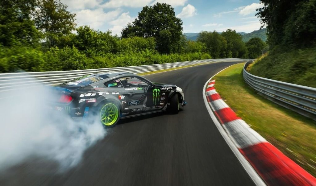 Ford Mustang RTR Nürburgring lap