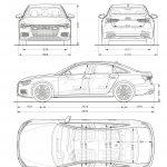Audi A6 2018-dimensiones