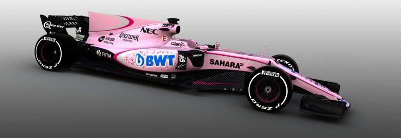 Force India Rosa 2017