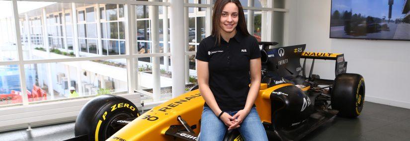 Marta Garcia nueva piloto Renault Sport F1