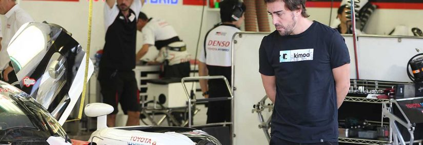test alonso toyota