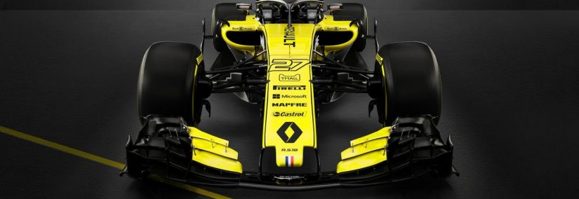 renault rs18 la creaci n del equipo galo que pilotar carlos sainz pdm. Black Bedroom Furniture Sets. Home Design Ideas